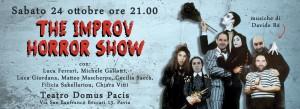 The improv horror show 24/10/2015