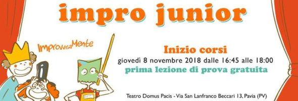 Impro Junior – Corsi 2018-2019